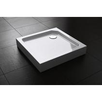 "Best-Design ""Project"" opbouwdouchebak vierkant 80x80x14 cm"
