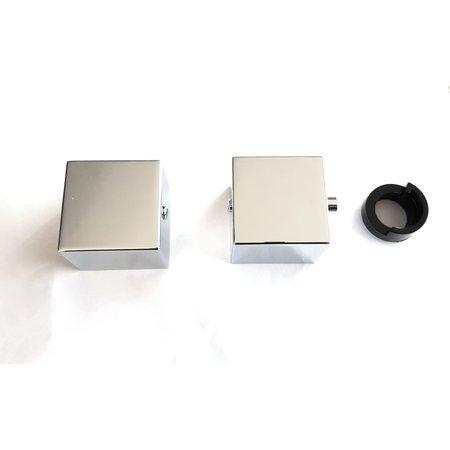 "Best-design Best-Design paar bedieningsknop thermostatisch/omstel tbv.""New-Quadro ""no:3856540"
