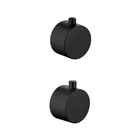 "Best-design Best-Design paar bedieningsknop thermostatisch/omstel tbv.""Lacora "" Art.4006180"