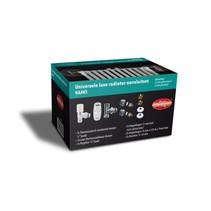 """Best-Design Luxe radiator-aansluitset """"Haaks"""" universeel (DS-GROEN)"""
