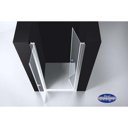 "Best-design Best-Design ""Erico"" pendeldeur met profiel 76-79cm H=200cm NANO glas 6mm"