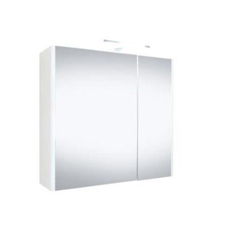 """Best-design Best-Design """"Happy"""" MDF spiegelkast + verlichting 60x60cm"""