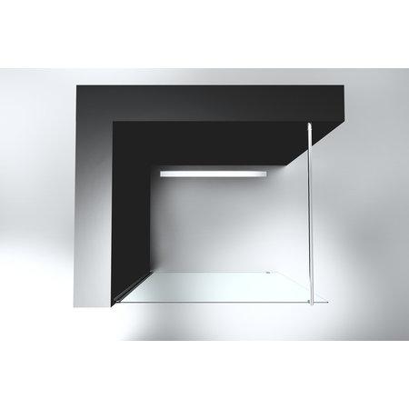 """Best-design Best-Design """"Erico 500"""" inloopdouche 47-49 cm NANO 8mm glas"""