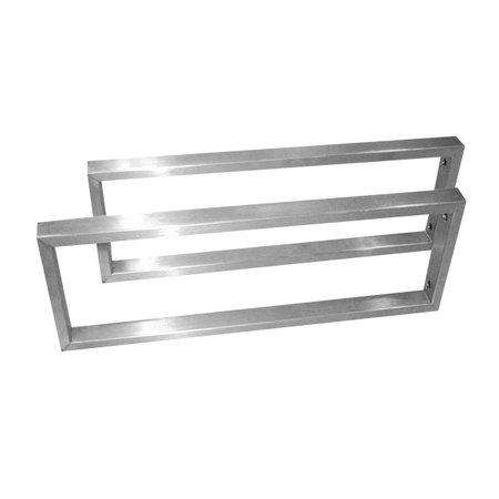 Best-design Best-Design paar RVS-304 beugels 44x15 cm