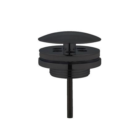 """Best-design Best-Design """"Low"""" fontein afvoer plug """"Nero"""" 5/4"""" mat-zwart"""