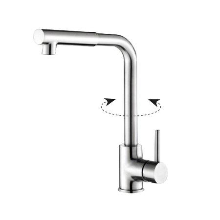 "Best-design Best-Design ""Giga"" RVS-304 ""Ore-Plus"" keukenkraan"