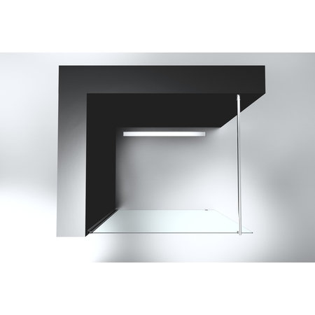 """Best-design Best-Design """"Erico 1000"""" inloopdouche 95-97cm NANO 8mm glas"""