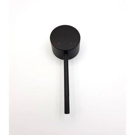 "Best-design Best-Design hendel Mat-Zwart tbv. ""Nero"" 4008400 / 4008410 / 4010560"