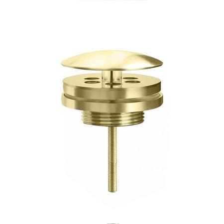 "Best-design Best-Design ""Nancy"" low fontein afvoer plug 5/4"" mat-goud"