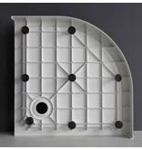 "Best-design Best-Design ""Project "" opbouwdouchebak 1/4 rond 90x90x14 cm R=550"