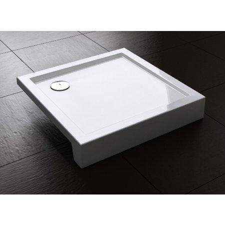"Best-design Best-Design ""Project"" opbouwdouchebak vierkant 100x100x14 cm"