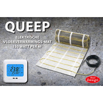 "Best-Design ""Queep"" elektrische vloerverwarmings-mat 6.0 m2"