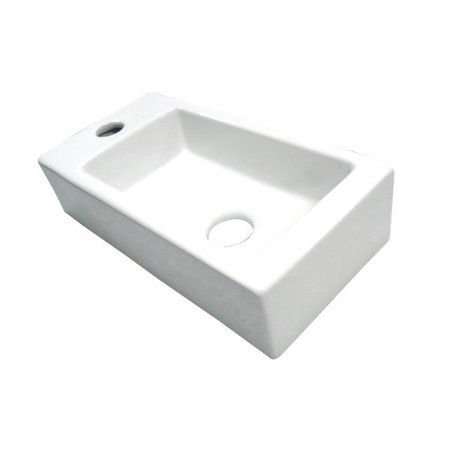 "Best-design Best-Design ""Farnetta"" fontein Links 37x18x9cm mat-wit"