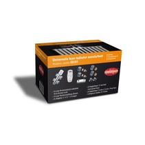 """Best-Design Luxe radiator-aansluitset """"Midden onder Recht"""" universeel (DS-ORANJE)"""