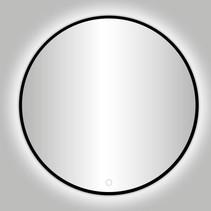 """Best-Design Nero """"Venetië"""" ronde spiegel zwart incl.led verlichting Ø 140 cm"""