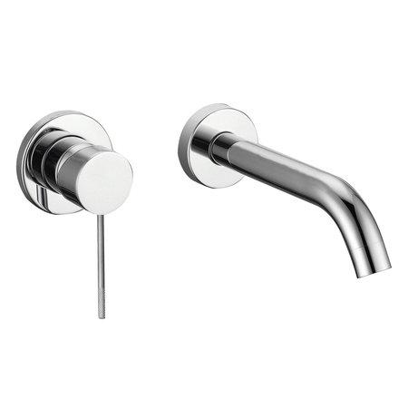 """Best-design Best-Design """"Ore-Decorata"""" RVS-304 inbouw-wandmengkraan uitl=20cm RVS"""