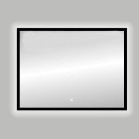 "Best-design Best-Design Nero ""Black-Solaro"" LED spiegel B=80 x H=60cm"