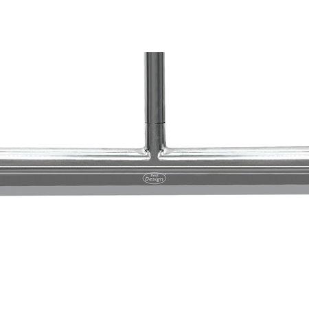 """Best-design Best-Design """"Big-One"""" luxe design douche vloerwisser incl.safety grip Chr / RVS"""