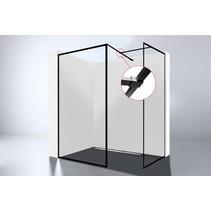 Best-Design Zwart T-verbindingsstuk tbv: muurstang For-You inloopdouche