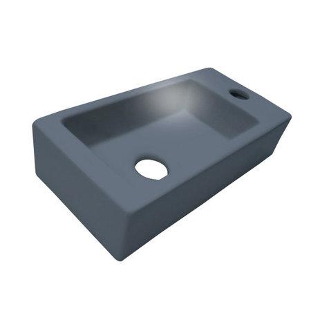 """Best-design Best-Design """"Mini-Block"""" fontein antraciet-grijs Rechts 36x18x9cm"""