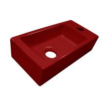 "Best-Design ""Mini-Block"" fontein rood Rechts 36x18x9cm"