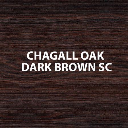 "Best-design Best-Design half-hoge kolomkast ""Lours"" L&R 120x35x30 cm oak-dark-brown"