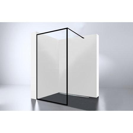 "Best-design Best-Design ""For-You 900"" Zwart inloopdouche Walk-In 900x2000x8mm"