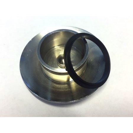 Best-design Best-Design afsluitrubber tbv:Clic-waste (zwart)
