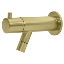 "Best-Design ""Spador-Nancy"" wand toiletkraan Mat-goud"