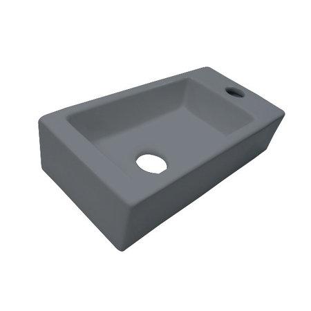 """Best-design Best-Design """"Farnetta"""" fontein Rechts 37x18x9cm mat-grijs"""