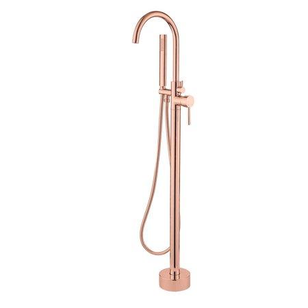 """Best-design Best-Design """"Lyon"""" vrijstaande badkraan H=112 cm rosé-mat-goud"""