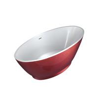 """Best-Design """"Color-Redpool"""" vrijstaand bad 178x78x61cm"""