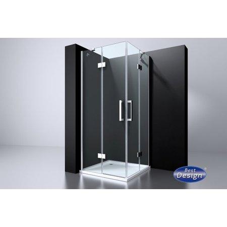 """Best-design Best-Design aluminium deurstrip voor """"Erico"""" 4000100"""