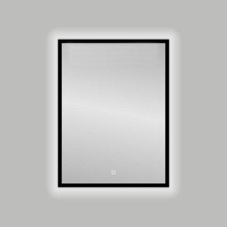 "Best-design Best-Design Nero ""Black-Solaro"" LED spiegel B=60 x H=80cm"