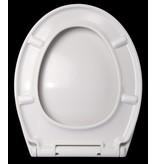 """Best-design Best-Design """"Demper"""" one-touch soft-closing toiletzitting"""
