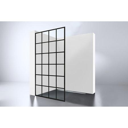 "Best-design Best-Design ""Black 1000 screen"" inloopdouche Walk-In 1000x2000x10mm"