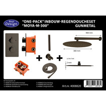 "Best-Design ""One-Pack"" inbouw-regendoucheset ""Moya-M-300"""