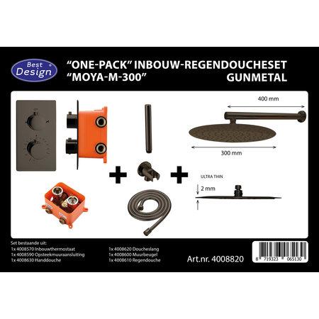 "Best-design Best-Design ""One-Pack"" inbouw-regendoucheset ""Moya-M-300"""