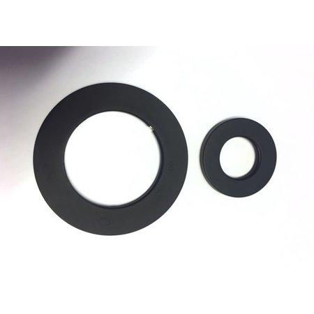 Best-design Best-Design set zwarte sierringen (2 stuks) tbv: 4003080