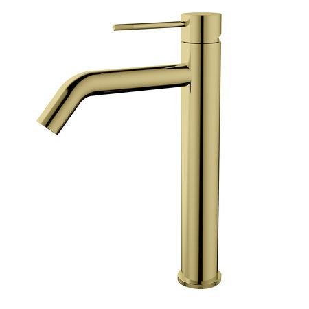 "Best-design Best-Design ""Nancy-Nerola"" Hoge-wastafelmengkraan mat-goud"
