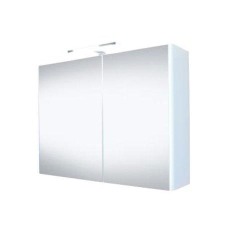"""Best-design Best-Design """"Happy"""" MDF spiegelkast + verlichting 100x60cm"""