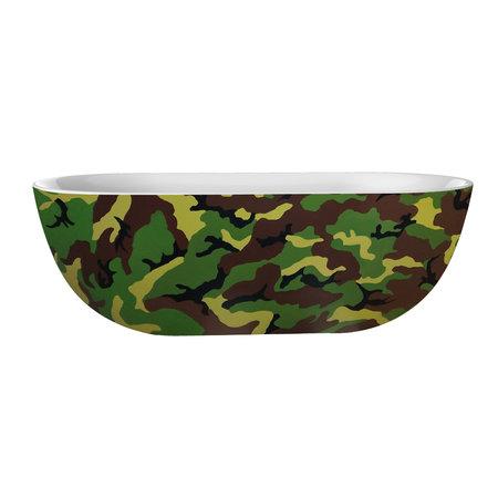"Best-design Best-Design Color ""Camouflage"" vrijstaand bad 180x86x60cm"