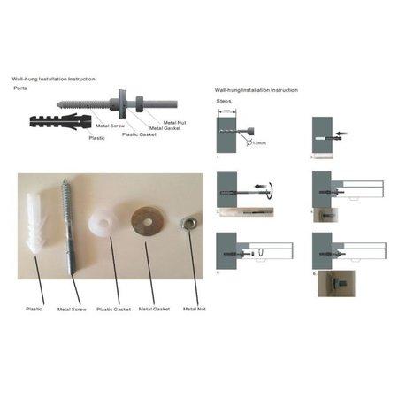 "Best-design Best-Design ""Arty-Rechts"" fontein ""Just-Solid"" 36x18x10cm"