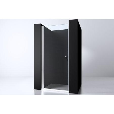 "Best-design Best-Design ""Erico"" nisdeur met profiel 97-100cm H=200cm NANO glas 6mm"