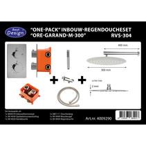 """Best-Design """"One-Pack"""" inbouw-regendoucheset """"Ore-Garand-M-300"""""""