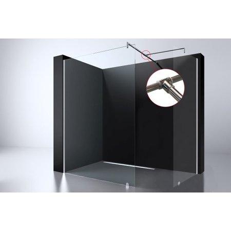 Best-design Best-Design Chroom T-verbindingsstuk tbv: muurstang Erico inloopdouche