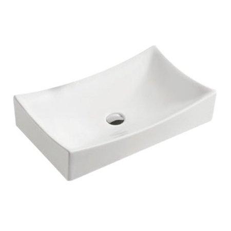 "Best-design Best-Design ""Dicta"" opbouw wastafel 65x39,5x13,5 cm"