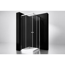 "Best-Design ""Project"" douche hoekinstap 90x90x190cm glas 5mm"