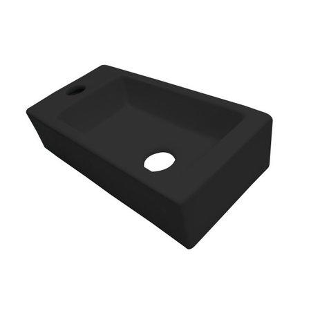 """Best-design Best-Design """"Farnetta"""" fontein Links 37x18x9cm mat-zwart"""