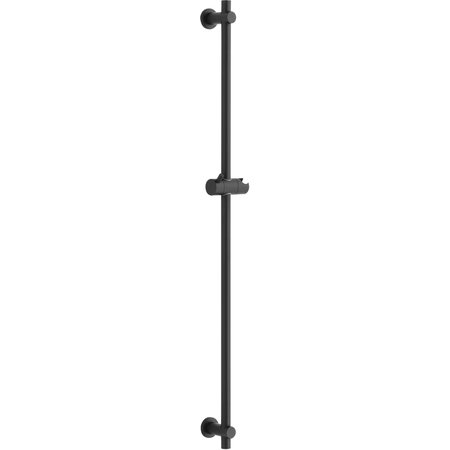 "Best-design Best-Design ""Garda"" glijstang 90 cm ""Nero"" mat-zwart"
